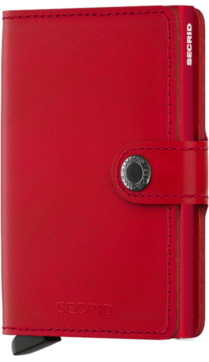 Secrid Miniwallet - Original Red - Gear Supply Company
