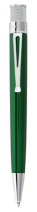 Retro51 Tornado Classic Lacquers Rollerball Pen - Green - Gear Supply Company