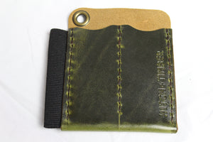 The Runt 2.0 with Card Holder: Antique Green - Gear Supply Company
