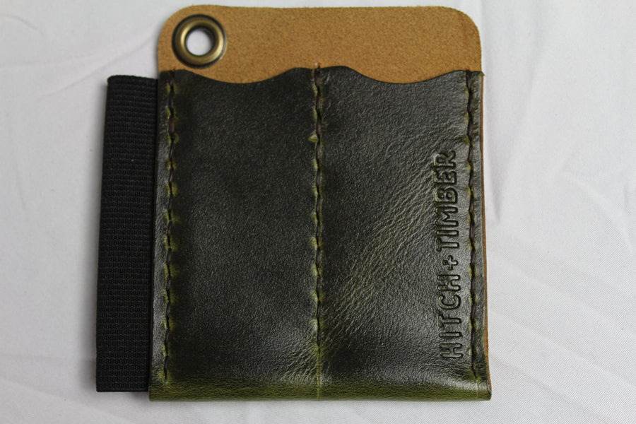The Runt 2.0 without Card Holder: Antique Green - Gear Supply Company