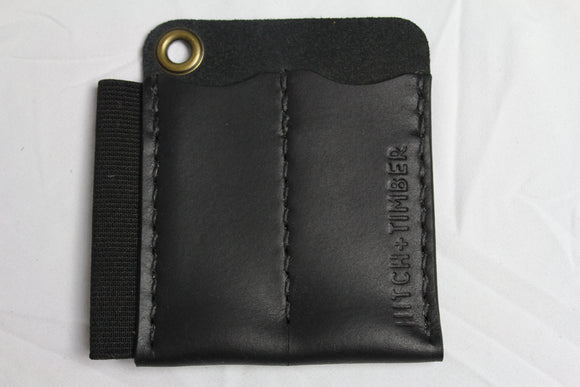 The Runt 2.0 with Card Holder: Black - Gear Supply Company