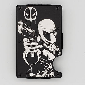 Gear Supply Exclusive Wallet Deadpool Engraving - Gear Supply Company