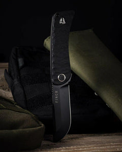 Finch Knive Co. - TIKUNA - Raven Black - Gear Supply Company
