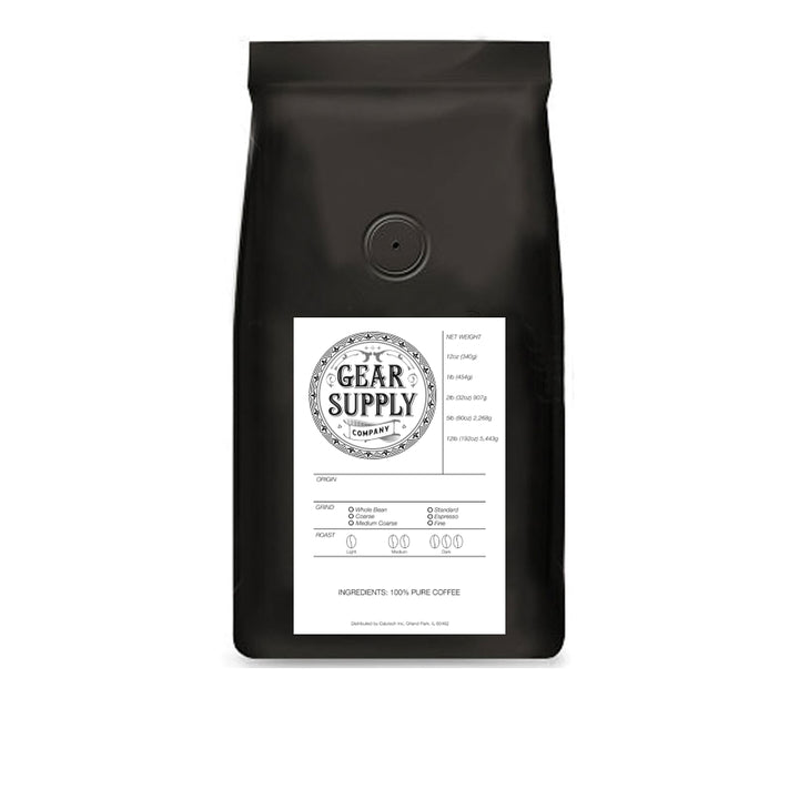 Tanzania Single-Origin Coffee - Gear Supply Company