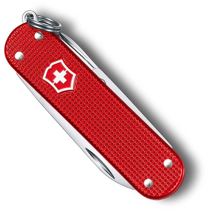 Victorinox Classic Alox Berry Red LE 2018 - Gear Supply Company