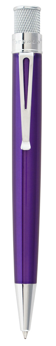 Retro51 Tornado Classic Lacquers Rollerball Pen - Purple - Gear Supply Company