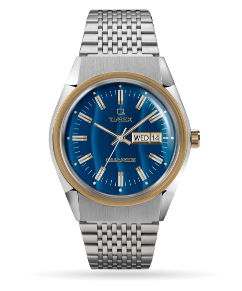 Q Timex Reissue Falcon Eye 38mm Stainless Steel Bracelet Watch - Gear Supply Company