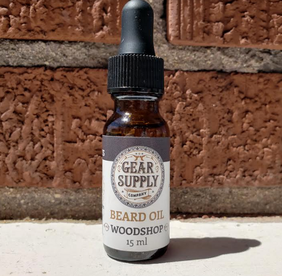 GSC. Beard Oil - WOODSHOP - Gear Supply Company