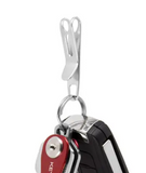 KeySmart Nano Clip | Stainless Steel Pocket & Purse Clip - Gear Supply Company