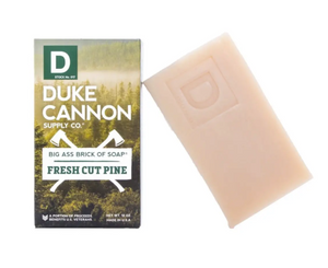 Duke Cannon Big Ass Brick of Soap - Fresh Cut Pine - Gear Supply Company