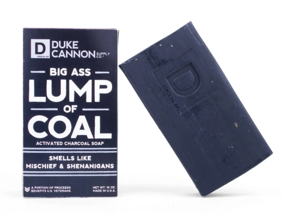 Duke Cannon Big Ass Lump of Coal - Gear Supply Company