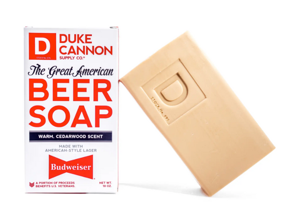 Duke Cannon The Great American Budweiser Beer Soap - Gear Supply Company