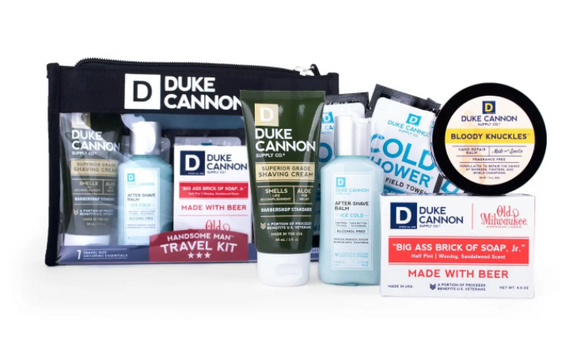 Duke Cannon Handsome Man Travel Kit - Gear Supply Company