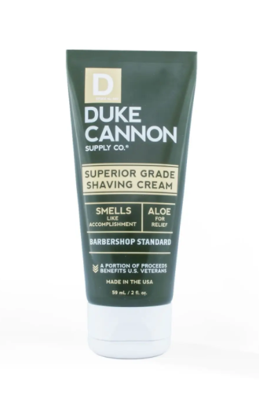Duke Cannon SUPERIOR GRADE SHAVING CREAM - TRAVEL SIZE - Gear Supply Company