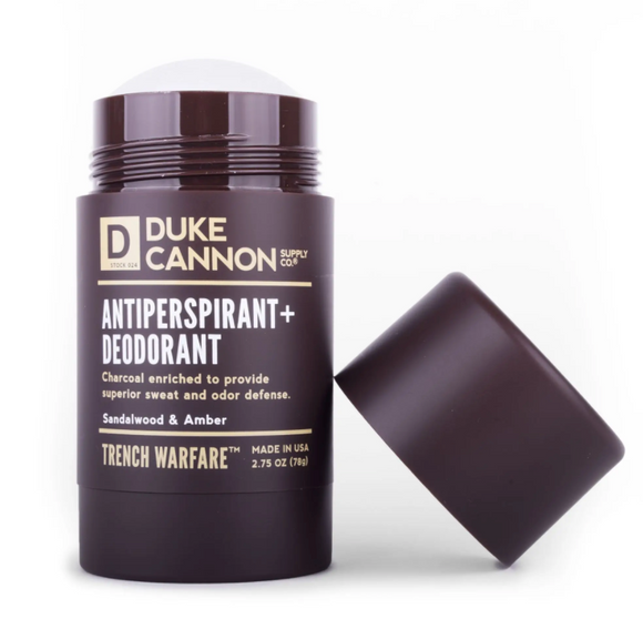 Duke Cannon TRENCH WARFARE A/P + DEODORANT (SANDALWOOD & AMBER) - Gear Supply Company