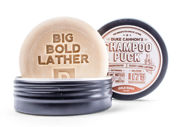 Duke Cannon SHAMPOO PUCK GOLD RUSH - Gear Supply Company