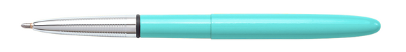Fisher Space Pen 400TBL – TAHITIAN BLUE BULLET SPACE PEN W/ CHROME FINGER GRIP - Gear Supply Company