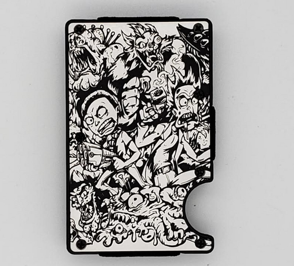 Gear Supply Exclusive Wallet Rick and Morty 1 Engraving - Gear Supply Company