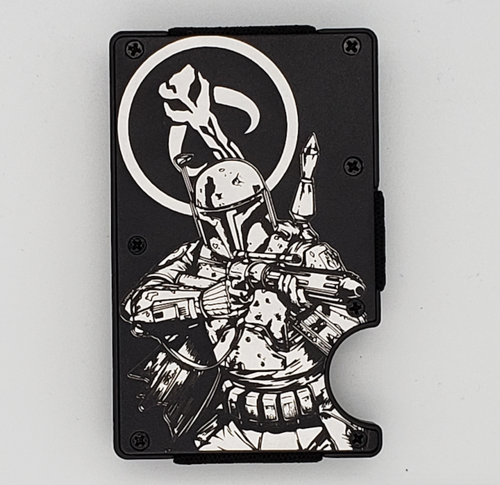 Gear Supply Exclusive Wallet Boba Fett Engraving - Gear Supply Company