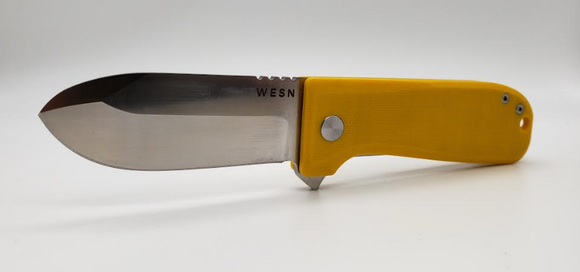 The WESN Allman Yellow G10 - Gear Supply Company
