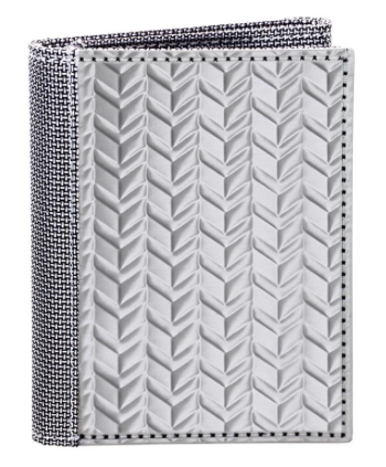 TRI FOLD (ID) HERRINGBONE,  SILVER - Gear Supply Company