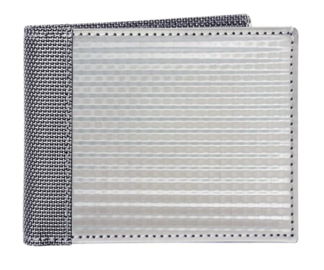 BILL FOLD CHECKERED, SILVER - Gear Supply Company