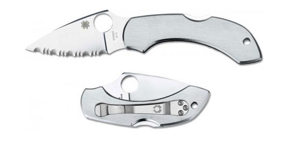 Spyderco Dragonfly Lockback Knife Stainless Steel (2.3