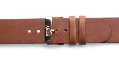 STRYproject Brown leather band 20mm - Gear Supply Company