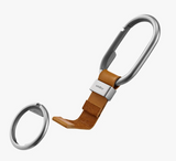 Orbitkey Clip Tan with White Stitching - Gear Supply Company