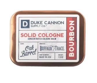 Duke Cannon Solid Cologne - Buffalo Trace Bourbon - Gear Supply Company