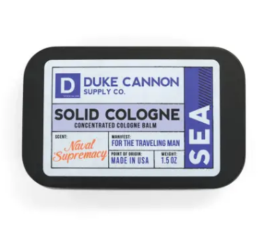 Duke Cannon Solid Cologne - Sea - Gear Supply Company