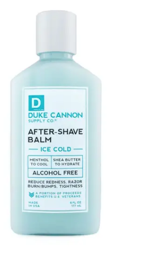 Duke Cannon Cooling After-Shave Balm - Gear Supply Company