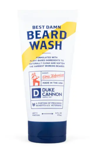 Duke Cannon Best Damn Beard Wash - Gear Supply Company