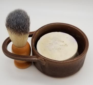 White Collar Woodsmen Shave Kit - Brown - Gear Supply Company