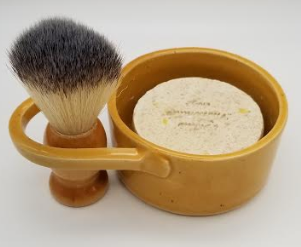 White Collar Woodsmen Shave Kit - Yellow - Gear Supply Company