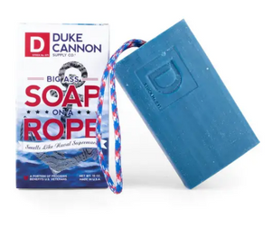Duke Cannon Big Ass Soap on a Rope - Naval Supremacy - Gear Supply Company