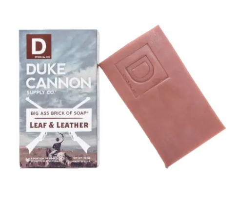 Duke Cannon Big Ass Brick of Soap - Leaf and Leather - Gear Supply Company