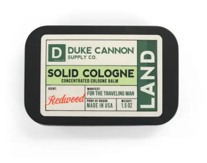 Duke Cannon Solid Cologne - Land - Gear Supply Company