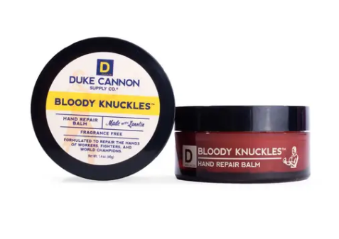 Duke Cannon BLOODY KNUCKLES HAND REPAIR BALM - TRAVEL SIZE - Gear Supply Company