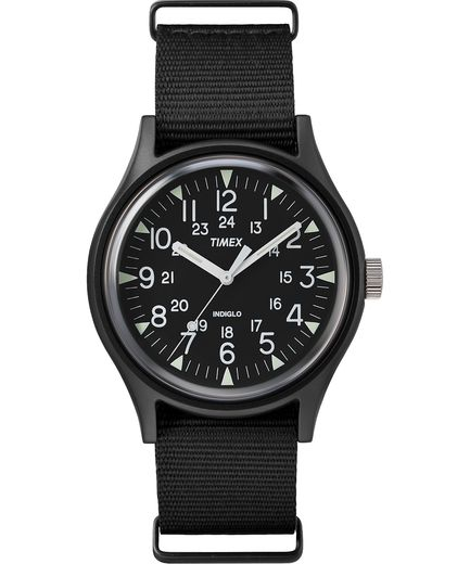 MK1 Aluminum 40mm Fabric Watch - Gear Supply Company
