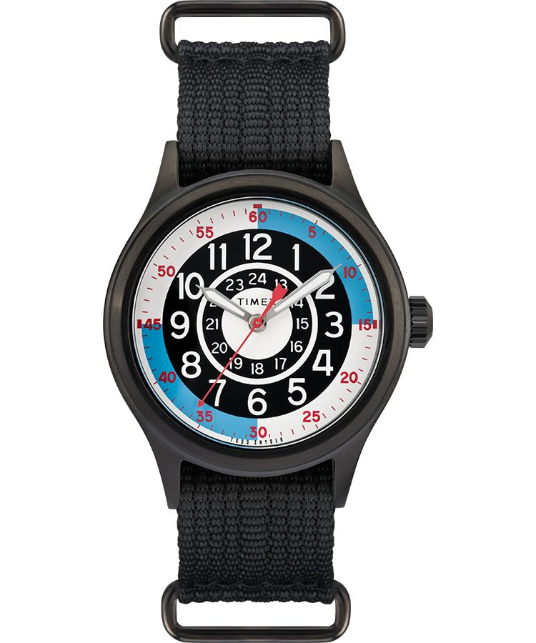 Timex x Todd Snyder Blackjack Inspired 40mm Fabric Strap Watch - Gear Supply Company
