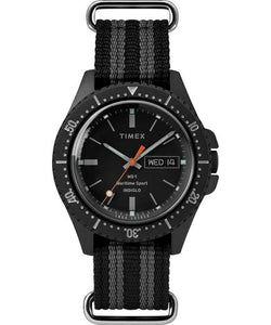 Timex x Todd Snyder MS-1 41mm Fabric Strap Maritime Sport - Gear Supply Company