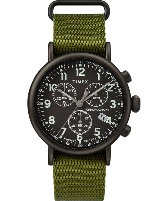 Standard Chronograph 41mm Fabric Strap Watch - Gear Supply Company