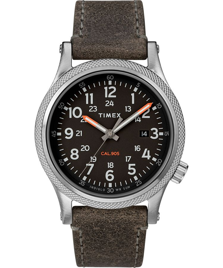 Allied LT 40mm Leather Strap Watch - Gear Supply Company