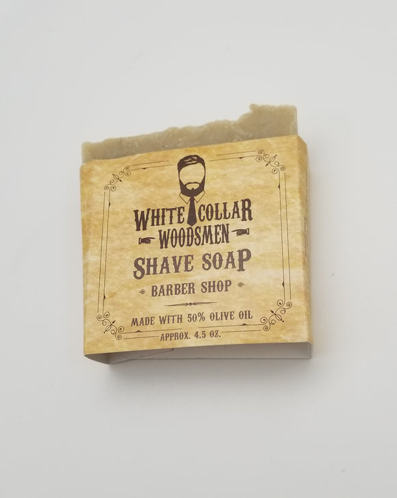 White Collar Woodsmen Shave Soap - Gear Supply Company