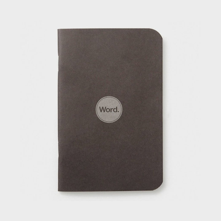 Black by WORD. NOTEBOOKS - Gear Supply Company