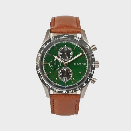 British Green Racer Chronograph - 42mm - Gear Supply Company