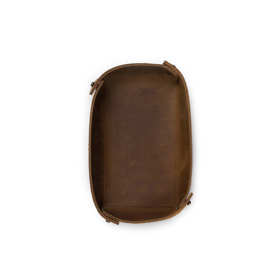 Basin Leather Catch-All: Brownstone - Gear Supply Company