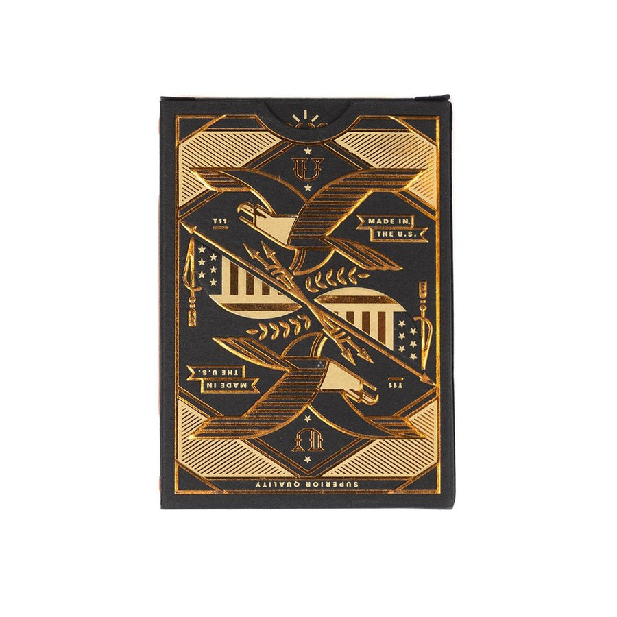 Prestige Leather Playing Card Case: Dark Brown - Gear Supply Company