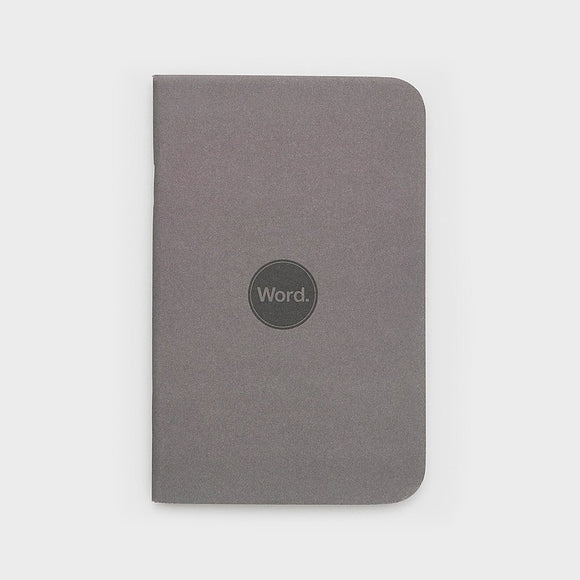 Charcoal by WORD. NOTEBOOKS - Gear Supply Company